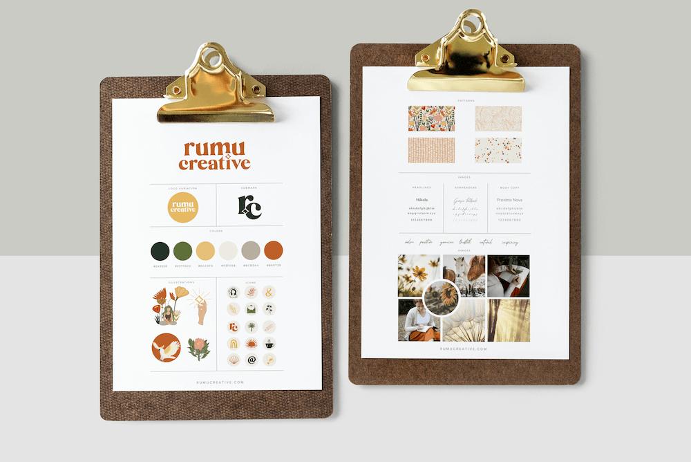 Rumu Creative Brand Board