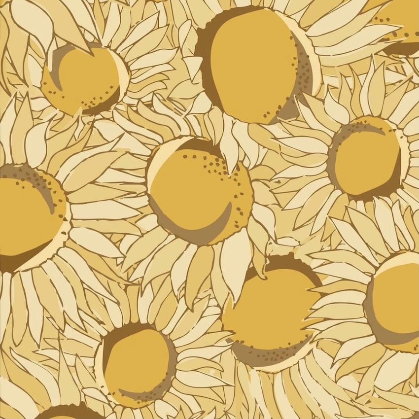 Sunflower Illustration - Rumu Creative
